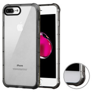 Air Sacs Transparent Anti-Shock TPU Case for iPhone 8 Plus / 7 Plus - Smoke