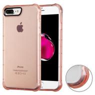 *Sale* Air Sacs Transparent Anti-Shock TPU Case for iPhone 7 Plus - Rose Gold