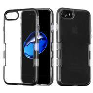 TUFF Panoview Transparent Hybrid Case for iPhone 8 / 7 - Black