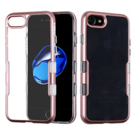 TUFF Panoview Transparent Hybrid Case for iPhone 8 / 7 - Rose Gold