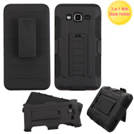 *SALE* Robust Armor Stand Protector Cover with Holster for Samsung Galaxy On5 - Black