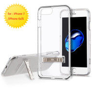 *SALE* Sidekik Transparent Crystal Case with Kickstand for iPhone 8 / 7 / 6S / 6 - Clear