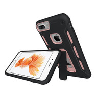 *Sale* Citadel Hybrid Armor Case with Kickstand for iPhone 8 Plus / 7 Plus - Rose Gold