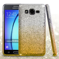 Full Glitter Hybrid Protective Case for Samsung Galaxy On5 - Gradient Gold