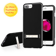 Sidekik Hard Shell Polycarbonate Case with Kickstand for iPhone 8 Plus / 7 Plus / 6S Plus / 6 Plus - Jet Black