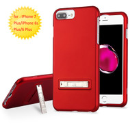Sidekik Hard Shell Polycarbonate Case with Kickstand for iPhone 8 Plus / 7 Plus / 6S Plus / 6 Plus - Red