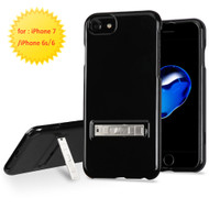 Sidekik Hard Shell Polycarbonate Case with Kickstand for iPhone 8 / 7 / 6S / 6 - Jet Black