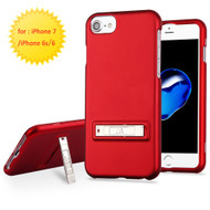 *Sale* Sidekik Hard Shell Polycarbonate Case with Kickstand for iPhone 8 / 7 / 6S / 6 - Red