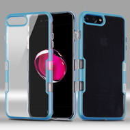 *Sale* TUFF Panoview Transparent Hybrid Case for iPhone 7 Plus - Coral Blue