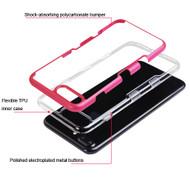 TUFF Panoview Transparent Hybrid Case for iPhone 8 Plus / 7 Plus - Red