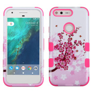 *Sale* Military Grade TUFF Image Hybrid Armor Case for Google Pixel - Spring Flowers