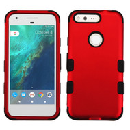 *Sale* Military Grade TUFF Hybrid Armor Case for Google Pixel - Red