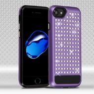 Luxury Bling Diamond Hybrid Case for iPhone 7 - Purple