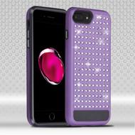 Luxury Bling Diamond Hybrid Case for iPhone 7 Plus - Purple