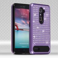 *SALE* Luxury Bling Diamond Hybrid Case for ZTE Zmax Pro / Grand X Max 2 / Imperial Max / Max Duo 4G - Purple
