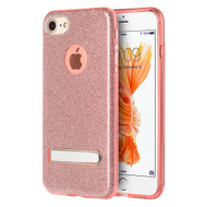 *SALE* Full Glitter Hybrid Protective Case with Kickstand for iPhone 7 - Pink