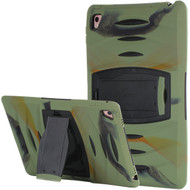 *Sale* Shockproof Heavy Duty Rugged Hybrid Armor Case with Kickstand for iPad Pro 9.7 inch - Green Camouflage