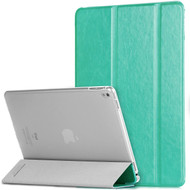 *Clearance* Slim Folio Smart Leather Hybrid Case for iPad Pro 9.7 inch - Mint Green