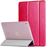 *Clearance* Slim Folio Smart Leather Hybrid Case for iPad Pro 9.7 inch - Hot Pink
