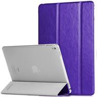 *SALE* Slim Folio Smart Leather Hybrid Case for iPad Pro 9.7 inch - Purple