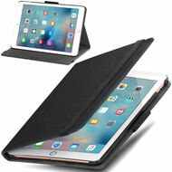 *SALE* Classic Hard Shell Smart Leather Stand Case for iPad Pro 9.7 inch - Black