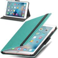 *SALE* Classic Hard Shell Smart Leather Stand Case for iPad Pro 9.7 inch - Mint Green