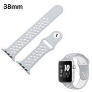 Performance Sports Silicone Watch Band for Apple Watch 38mm - Gray