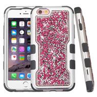 *Sale* TUFF Vivid Mini Crystals Hybrid Armor Case for iPhone 6 Plus / 6S Plus - Pink