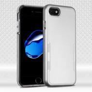 TUFF Contempo Hybrid Armor Case for iPhone 8 / 7 - Silver