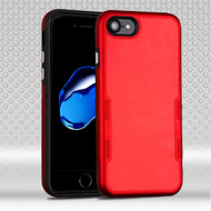 TUFF Contempo Hybrid Armor Case for iPhone 8 / 7 - Red
