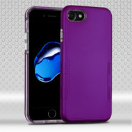 Military Grade Certified TUFF Contempo Hybrid Armor Case for iPhone 8 / 7 - Purple