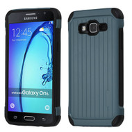 *Sale* Suitcase Design Hybrid Protector Cover for Samsung Galaxy On5 - Slate Blue