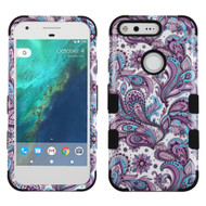 Military Grade Certified TUFF Image Hybrid Armor Case for Google Pixel - Persian Paisley