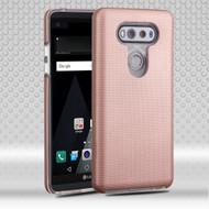 Ezpress Anti-Slip Hybrid Armor Case for LG V20 - Rose Gold