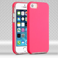 *Sale* Ezpress Anti-Slip Hybrid Armor Case for iPhone SE / 5S / 5 - Hot Pink