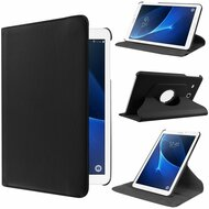 360 Rotating Leather Hybrid Case for Samsung Galaxy Tab A 7.0 - Black