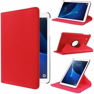 360 Rotating Leather Hybrid Case for Samsung Galaxy Tab A 7.0 - Red