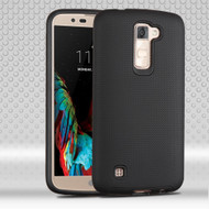 *SALE* Ezpress Anti-Slip Hybrid Armor Case for LG K10 / Premier LTE - Black