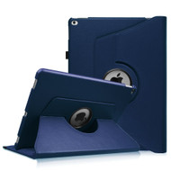360 Rotating Smart Leather Hybrid Case for iPad Pro 12.9 inch - Navy Blue