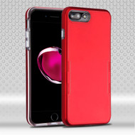 TUFF Contempo Hybrid Armor Case for iPhone 8 Plus / 7 Plus - Red