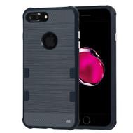 TUFF Cosmic Space Premium TPU Case for iPhone 8 Plus / 7 Plus - Dark Blue