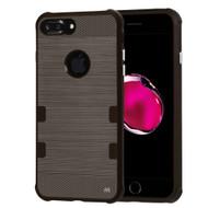 TUFF Cosmic Space Premium TPU Case for iPhone 8 Plus / 7 Plus - Dark Grey