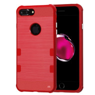TUFF Cosmic Space Premium TPU Case for iPhone 8 Plus / 7 Plus - Red