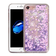 *Sale* Quicksand Glitter Transparent Case for iPhone 8 / 7 - Purple