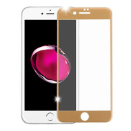 HD Curved Full Coverage Premium Tempered Glass Screen Protector for iPhone 8 Plus / 7 Plus - Gold