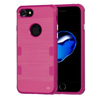 Military Grade Certified TUFF Cosmic Space Premium TPU Case for iPhone 8 / 7 - Hot Pink