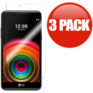 *SALE* HD Premium 2.5D Round Edge Tempered Glass Screen Protector for LG K6 / X Power - 3 Pack