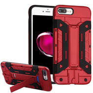 *Sale* Transformer Hybrid Card Case with Stand for iPhone 7 Plus - Red
