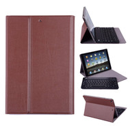 Slim Folio Kickstand Case with Removable Bluetooth Wireless Keyboard for iPad Air / Air 2 - Brown