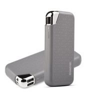 *SALE* 12000mAh High Capacity Smart Power Bank Battery Dual USB Charger - Grey